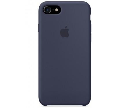 Чехол для Apple iPhone 7/8 Silicone Case Midnight Blue Lux Copy 1