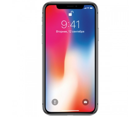 Смартфон Apple iPhone X 64GB (Space Gray) (MQAC2) Витринный вариант 1