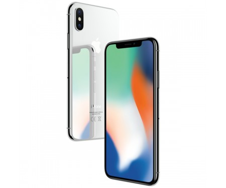Смартфон Apple iPhone X 256GB (Silver) (MQAG2) Витринный вариант 3